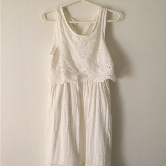 Cherokee Other - Cherokee little girls white dress     Size 7/8